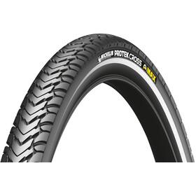 """Michelin Protek Cross Max Cubierta de Bicicleta 28"""" con alambre y reflectantes"""